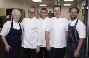 The Chefs at the Savoy