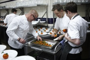 Cooking at the Savoy