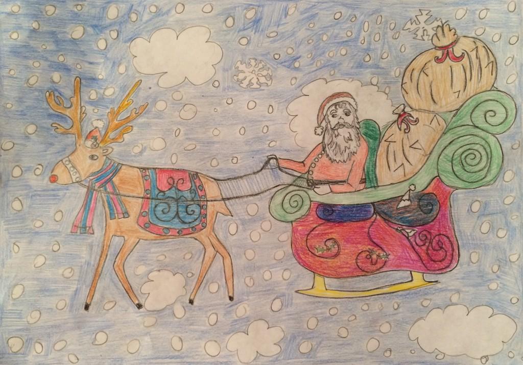 Drawing by Kara, aged 8