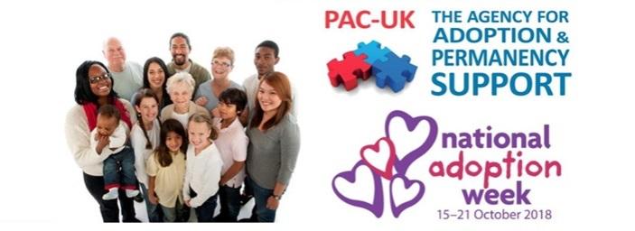 PAC-UK National Adoption Week Newsletter - October 2018